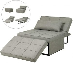 Diophros Folding Ottoman Sleeper Chair